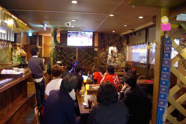 広島ドラゴンフライズ試合風景1