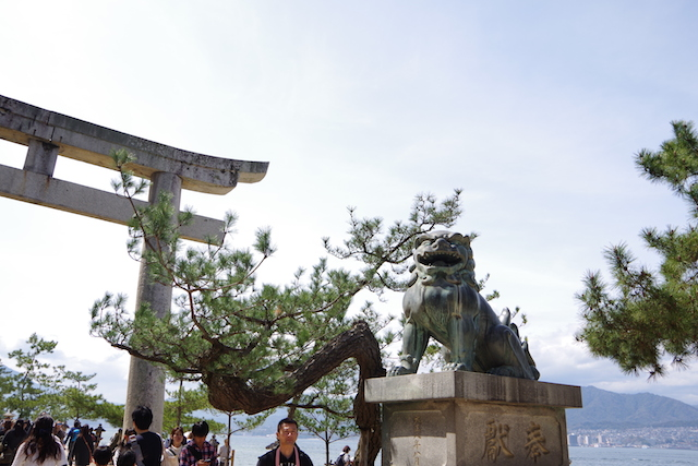 春の宮島世界遺産厳島神社・宮島水族館(みやじマリン)17