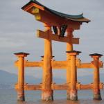 世界遺産宮島厳島神社大鳥居